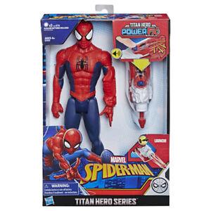SPIDER-MAN - Titan Power Fx Spider-Man Figuras temáticas Hombre Araña 4 Años+