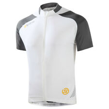 5bae3cd2b item 2 SKINS C400 Mens Cycling Short Sleeve Jersey NEW Compression - White  Grey - Large -SKINS C400 Mens Cycling Short Sleeve Jersey NEW Compression  ...