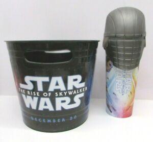 Star-Wars-The-Rise-of-Skywalker-Popcorn-Bucket-amp-Ren-039-s-Knight-Cup