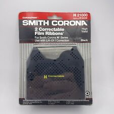 Smith Corona H 21000 Typewriter 2 Pack H Series Correctable Film Ribbons New