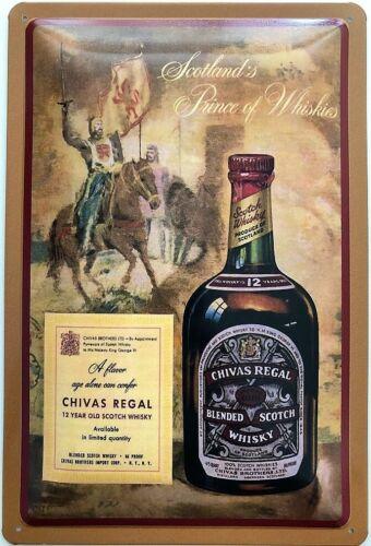 Blechschild 30 X 20 cm Chivas Regal Whisky