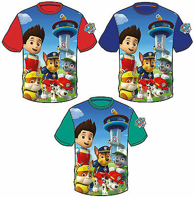 Humorous Paw Patrol Boys T Shirt Top 2-8 Years Brand New Official Licensed 2016 Design Complete In Specifications Clothes, Shoes & Accessories T-shirts & Tops