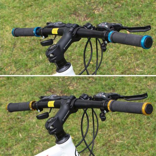 MTB BMX Bike Bicycle Metal Handle Bar Grips Double Lock On Locking Cycling  Hot