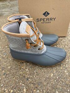 Sperry Saltwater Emboss Wool Dark Grey
