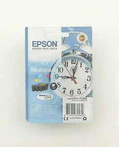 GENUINE EPSON 27 MULTIPACK CMY ink cartridges Oct 2023 3620DWF 7110DWF 7720DTWF