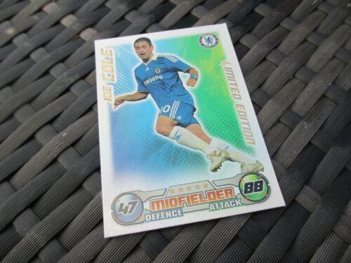 Match Attax ataque 2008//09 08//09 Joe Cole tarjeta de edición limitada