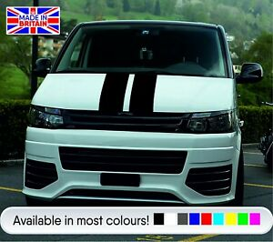 VW-T4-T5-T6-Bonnet-Stripes-High-OEM-Quality-Viper-Style-Vinyl-Stripes