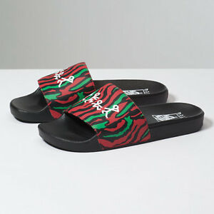 30857e203f5 VANS x A Tribe Called Quest Mens ATCQ SLIDES Low End Theory Limited ...