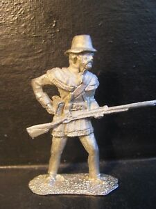 54MM  RECAST  1812 WAR US MILITIA #1