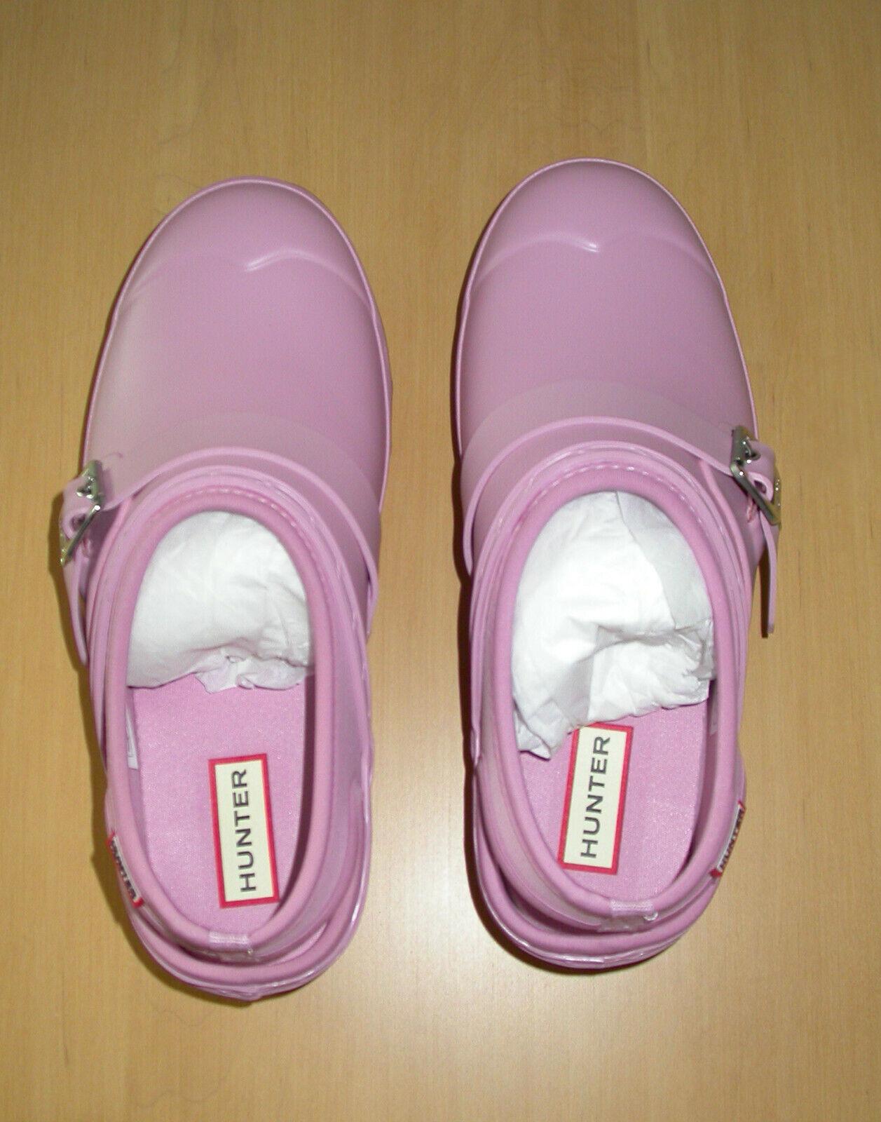 HUNTER Women's Original Clogs in Blossom (Pink) Sz 8 NIB