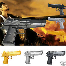 43Pcs Building Blocks Puzzle Nerf Shooting Gun CS Game Desert Eagle Toy Pistol