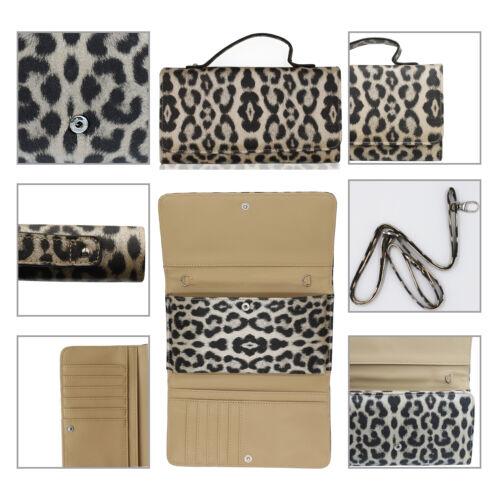 Glamexx24 Damen Geldbörse Clutch Tasche Handytasche Portemonnaie trage abend bag