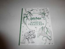Item 5 Harry Potter Magical Creatures Coloring Book Softcover New B278