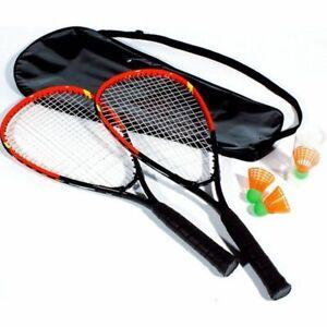Bandito-Speed-Badminton-Set-Schlaeger-Set-mit-Tasche