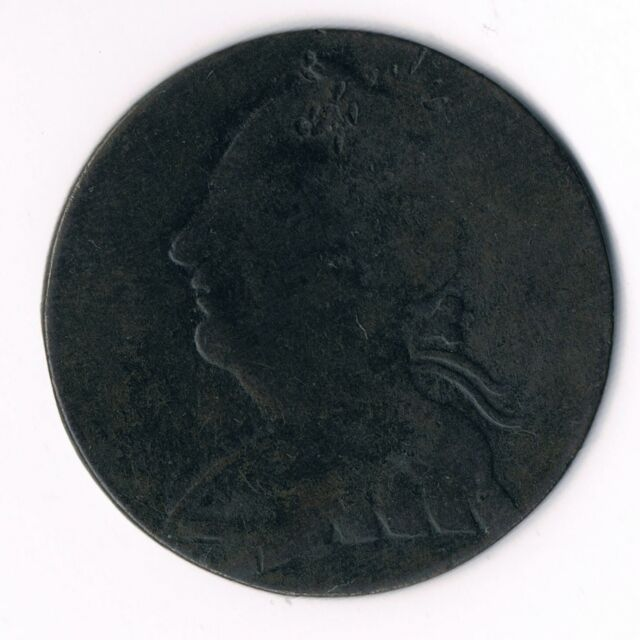 Canada:  BL-7 Blacksmith Token  Laureate bust George III -