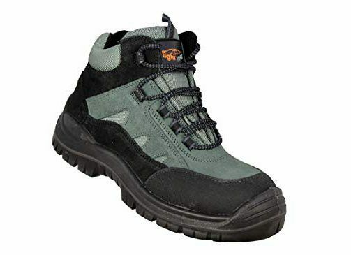 Safety Boots Mens Lightyear ST460 S1P Trekking,  Safety shoes High Black UK 12