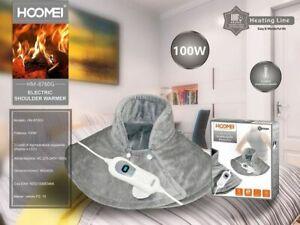 Scalda Collo Elettrico Hoomei Riscaldante Calore Per Dolori Lavabile Temperatura