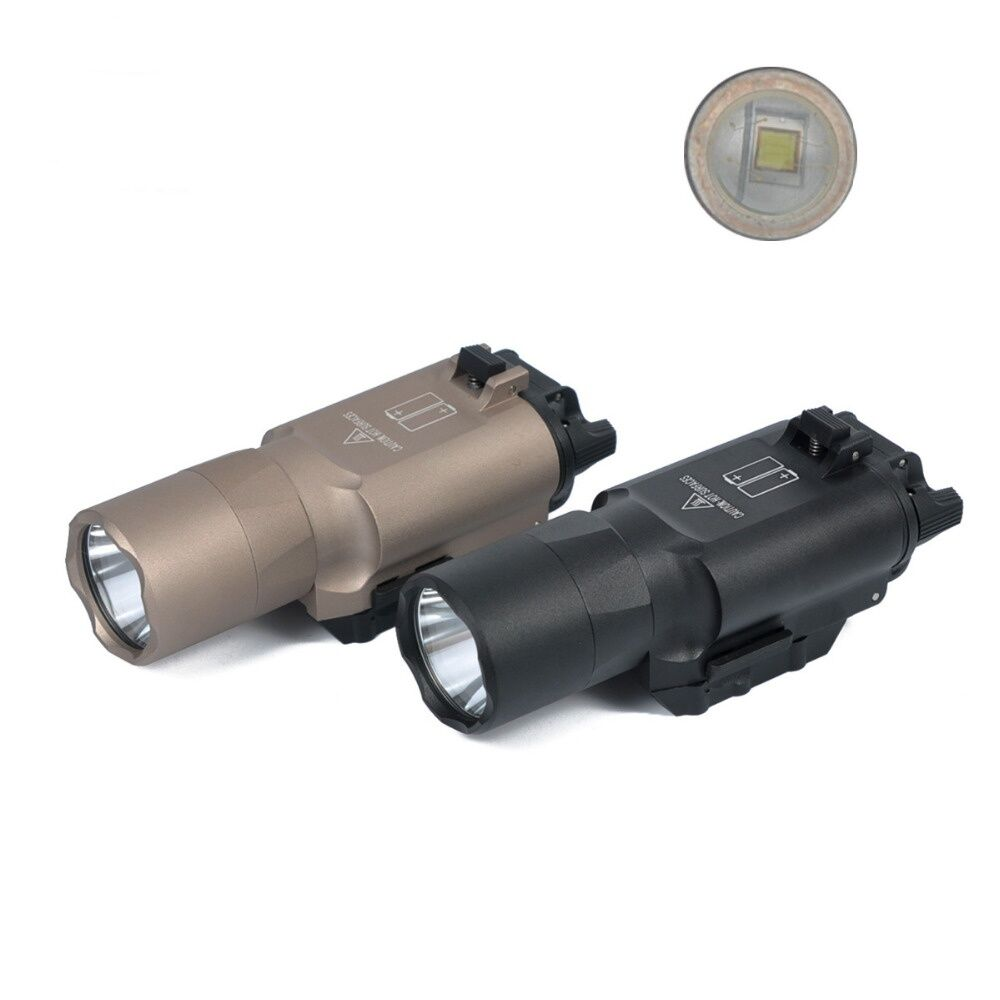 Tactical Hunting Ultra Bright X300U LED Torch Light Flashlight For Rifle Pistol