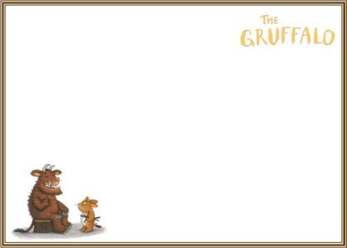 Gruffalo Thank You Cards birthday party boy girl children