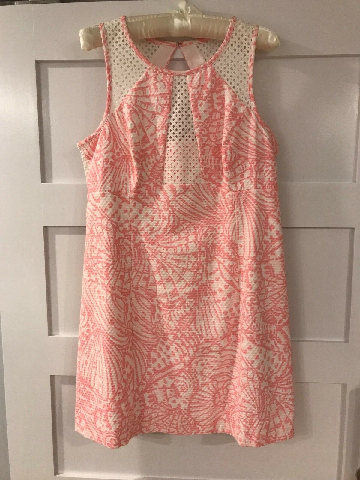 Lilly Pulitzer Kaylee Shift Dress Hubba Bubba Sea Cups Size 12
