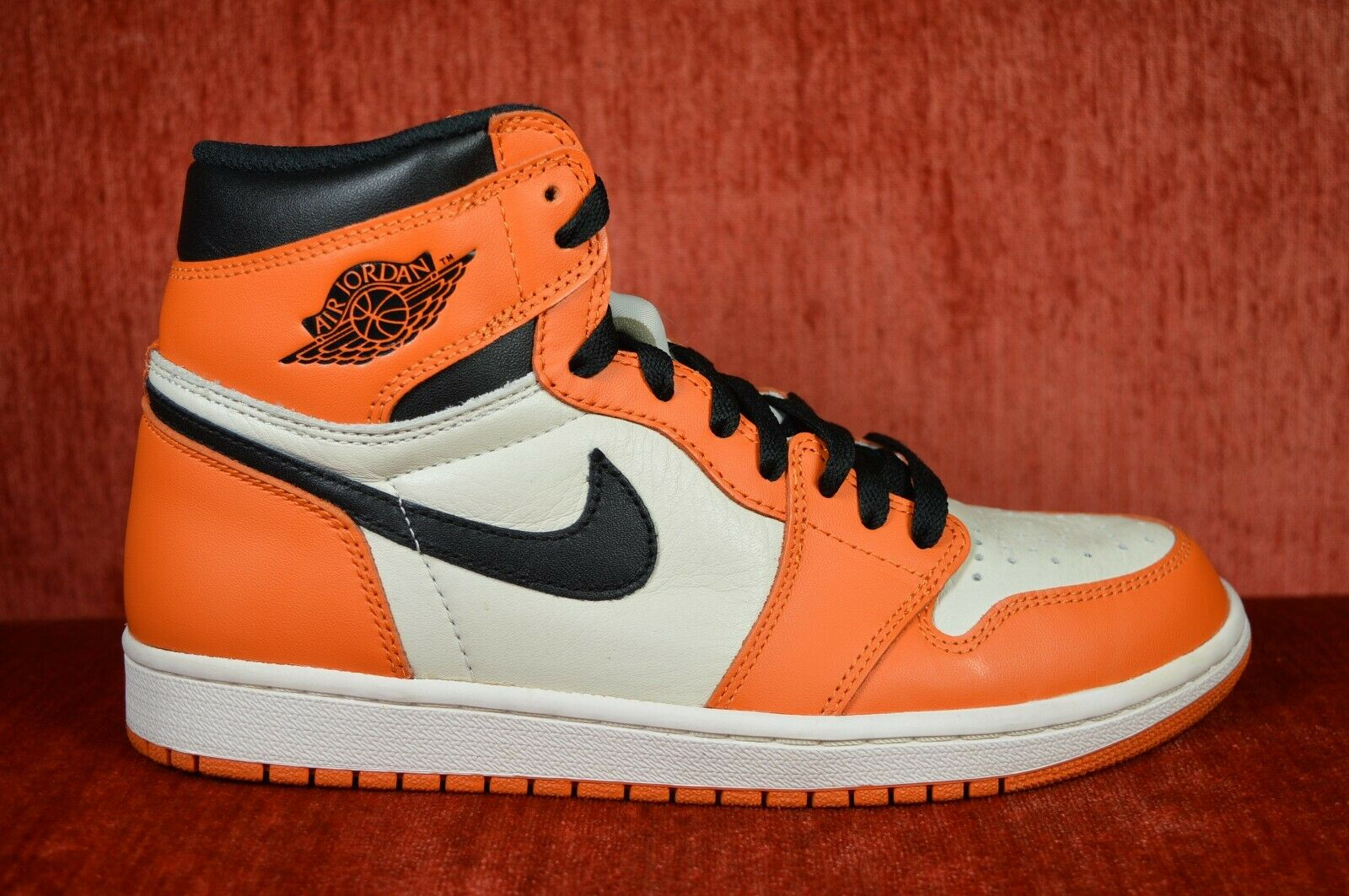 WORN TWICE Nike Air Jordan I 1 Retro High REVERSE  SHATTERED BACKBOARD Size 8