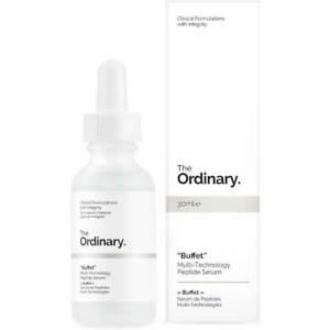 "The Ordinary ""Buffet"" Multi-Technology Peptide Serum 30ml Anti-aging Smoothing 727857192152"