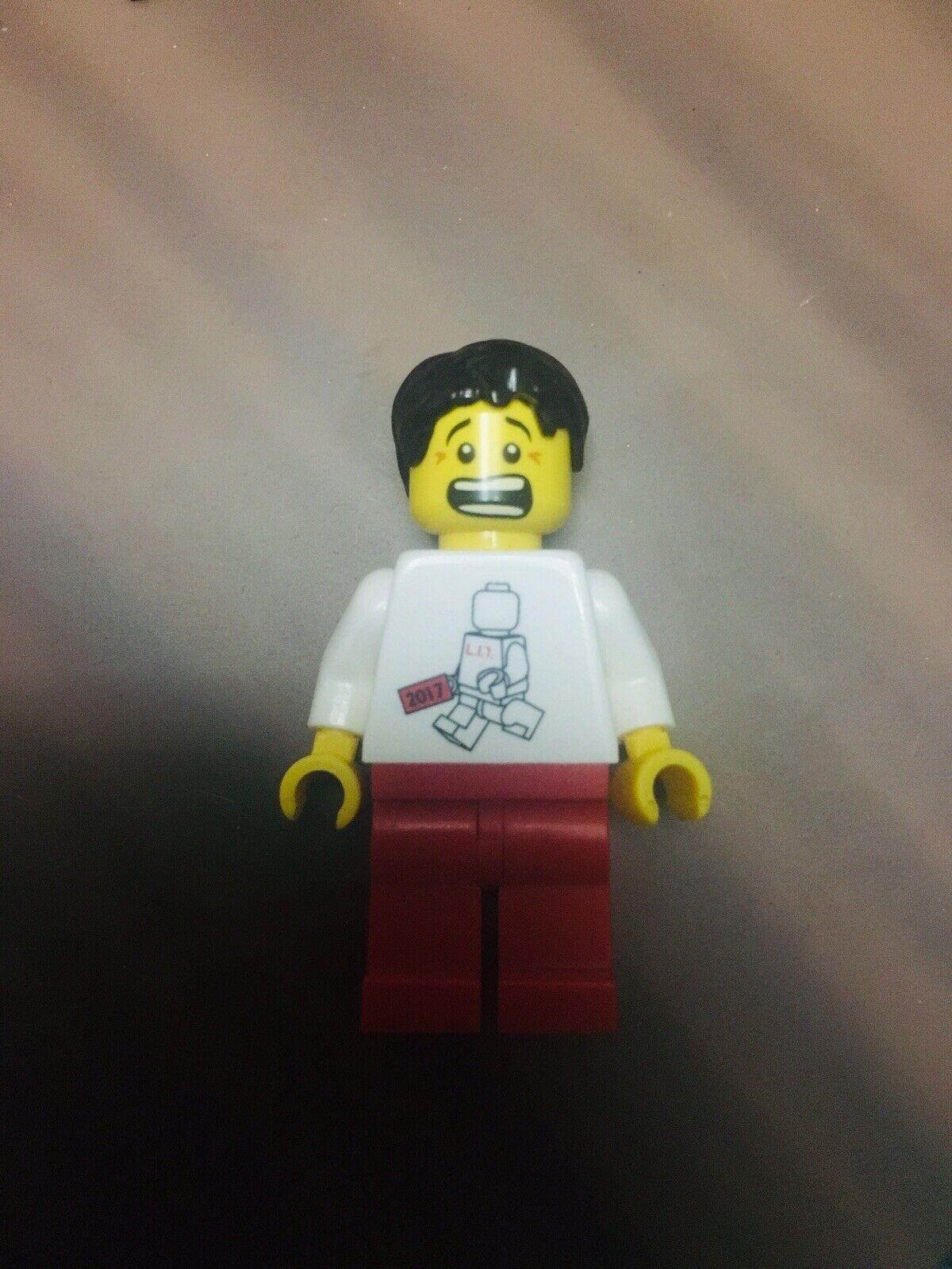 Lego 2017 Inside Tour  Minifigure authentic lit ltd rare than SDCC NYCC  à la mode