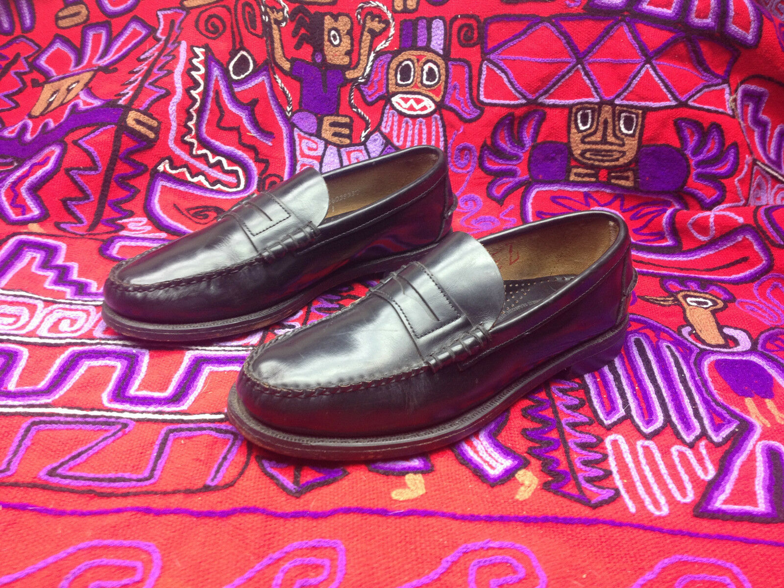 negozio fa acquisti e vendite USA SEBAGO nero LEATHER LEATHER LEATHER SLIP ON PENNY LOAFER DRIVING WEEKEND scarpe  8.5 M  prezzi bassi di tutti i giorni