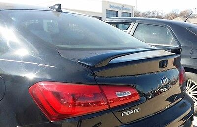FITS KIA FORTE KOUP 2DR 2014-2015 BOLT-ON 2POST REAR TRUNK SPOILER - UNPAINTED