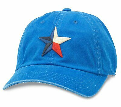 American Needle New Raglin Lone Star Baseball Dad Hat PBC-1911B-NAVY