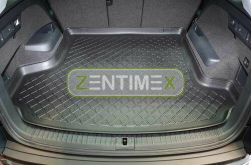 Z330765 SET Kofferraumwanne Gummifußmatten für Skoda Kodiaq 4x4 Steilheck Geländ