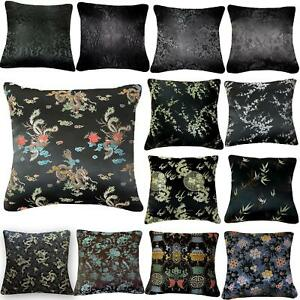 Pillow Cover*Chinese Rayon Brocade Throw Seat Pad Cushion Case Custom Size*BL11