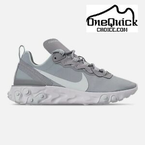 Details about Women's Nike React Element 55 Casual Shoes BQ2728 005 10 US Fast Free Shipping