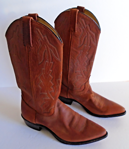 Dan Post Marlbgold Womens 9 M  Brown Leather Western Style Boots  Pointed Toe