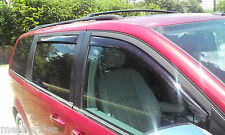 CHRYSLER TOWN & COUNTRY WEATHER TECH WIND DEFLECTORS 2008-2014 FRONTS & REARS