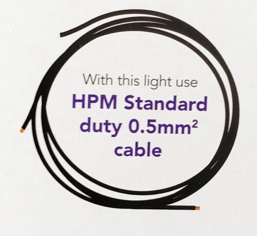 6 x HPM Geo Garden Flood Lights 12V 5W Low Voltage DIY Black Haloscape