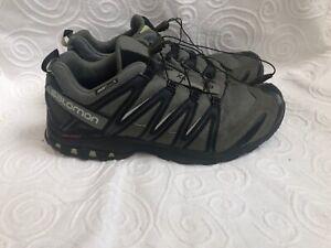 Salomon-Men-039-s-Xa-Pro-3D-Trail-Running-Hiking-Shoe-Size-13-M-Chive