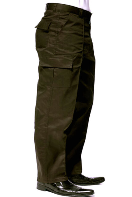 Mens Cargo / Combat Work Trousers Wasit Size 28- 52 Tradesmen Workwear