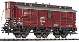 Liliput-235432-H0-3-achs-Pferdetransportwagen-Magdeburg-DR-Ep-II-Neu-OVP