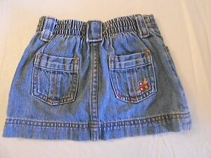 Vguc Catalogues Will Be Sent Upon Request 18 To 24 Mths Adroit Lot Of Old Navy & Osh Kosh Heart Jacket & Denim Skort