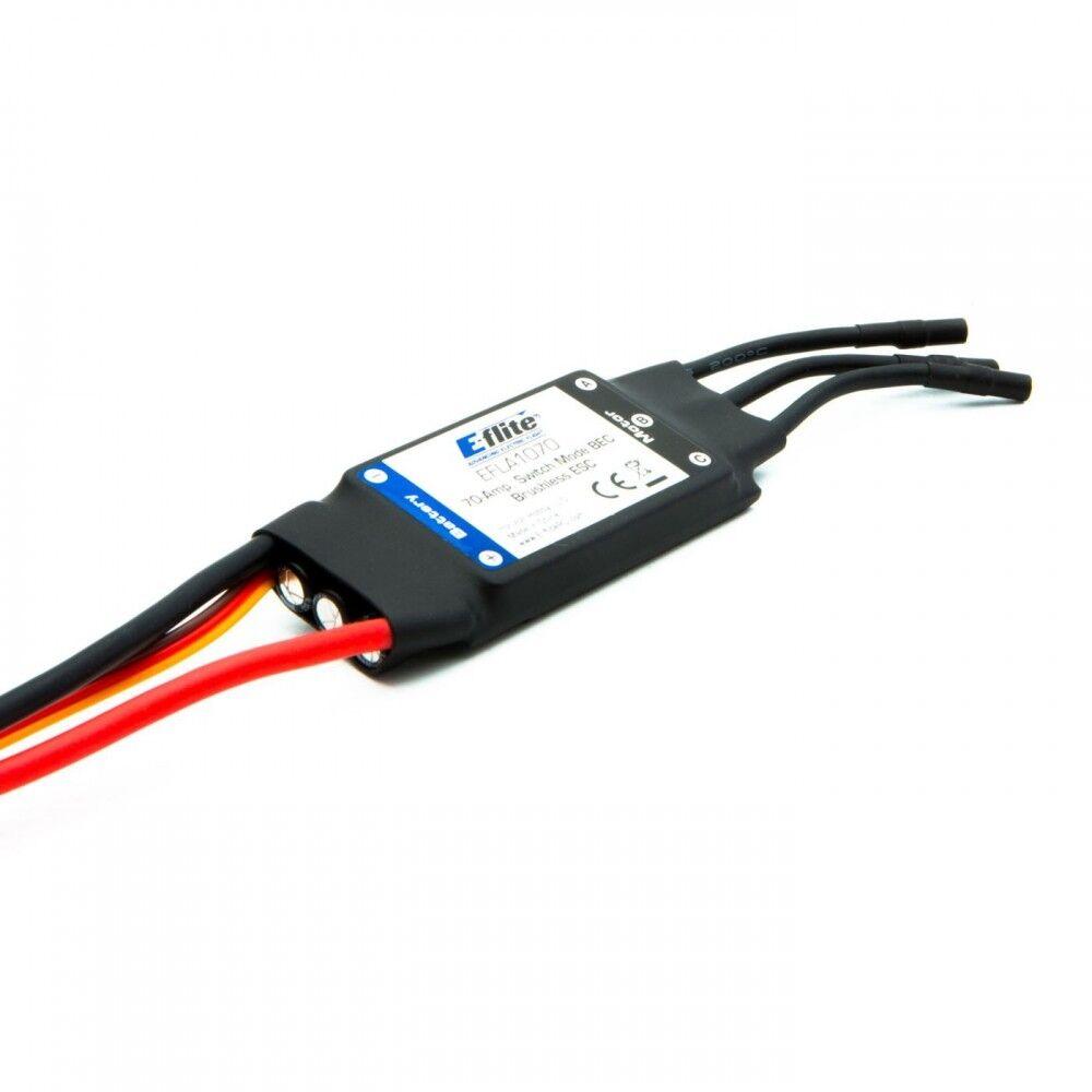 E-Flite 70-Amp Interruptor modo BEC Brushless Esc Con e AEDA 1070