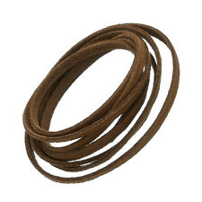 Ultra Micro Fibre Suede Flat Cord 3x1.5mm Light Brown 1m (N81/8)