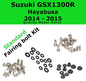 Fairing Bolt Kit body screws for Suzuki Hayabusa GSX 1300R 2014-2015 Stainless