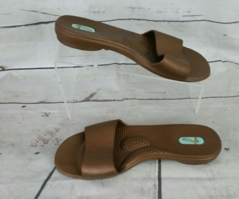 Okabashi Womens Oka Size Bee Slide Rubber Sandels Size Oka Medium Made USA 1a17a0