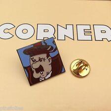 Pin's Folies *** Corner signé N° 258 Tintin Snowy Kuifje Tim und Struppi