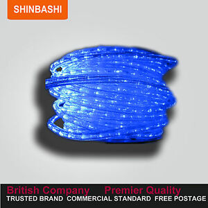 PREMIER-157FT-Clear-Blue-LED-Ribbon-Strips-Rope-Lights-FULL-SET-UK-Warranty