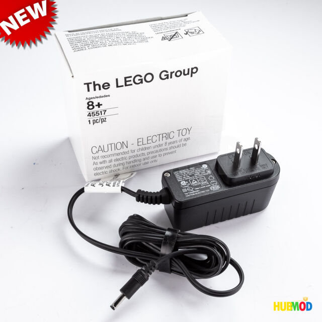 LEGO 8887 Power Functions Mindstorm EV3 NXT Transformer Charger Adapter 10VDC 7W