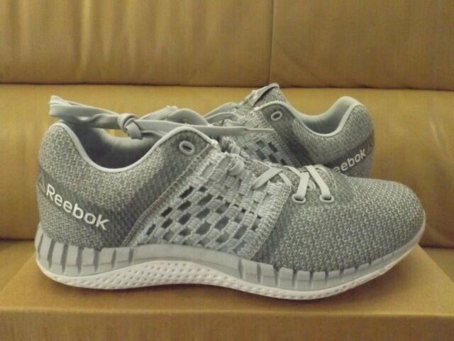 Obiezione sale wrongdoing  Reebok Zprint Run ULTK Ultraknit Grey White Women Running Shoes SNEAKERS  Bs9056 7 for sale online | eBay
