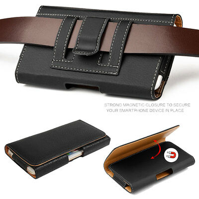 separation shoes 8af5a 64f2c Leather Holster Belt Clip Carrying Case Pouch For Samsung Galaxy S9 ...