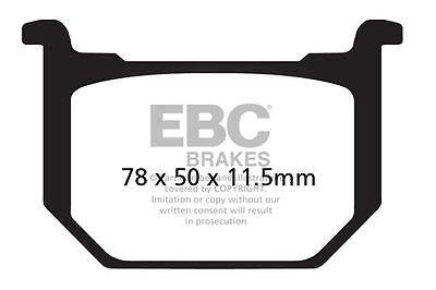 EBC Organic Front Brake Pads For Honda 2010 CBF125